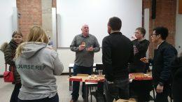 Jason Knights giving talk on November 17. Image: Yoana Cholteeva