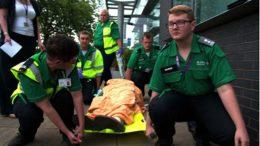 St. John's Ambulance. Image: Lesley Cann