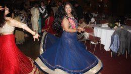 Students enjoying the Diwali Ball. Images: Chandini Venkataramani