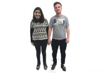 Blind date: Sophie Ahmed and Matt Backx