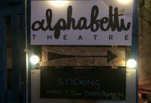 Alphabetti Theatre: Sticking