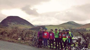The club took part in last year's coast to coast challenge. Image: Bethany Lumborg