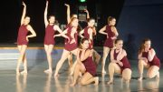 Jazz hands: the intermediate Jazz team placed 3rd in their category. Image: Katherine Smith