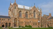 The Keble College Chapel, Oxford University Image: Wiki Pictures, DAVID ILIFF. License: CC-BY-SA 3.0
