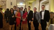 Salsa Society's members at the Christmas Ball. Image: Javier Lopez