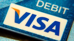 A Visa debit card.  Image: Flickr, Frankieleon