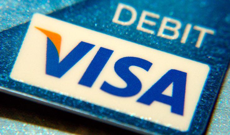 A Visa debit card.  Image: Flickr, Frankieleon