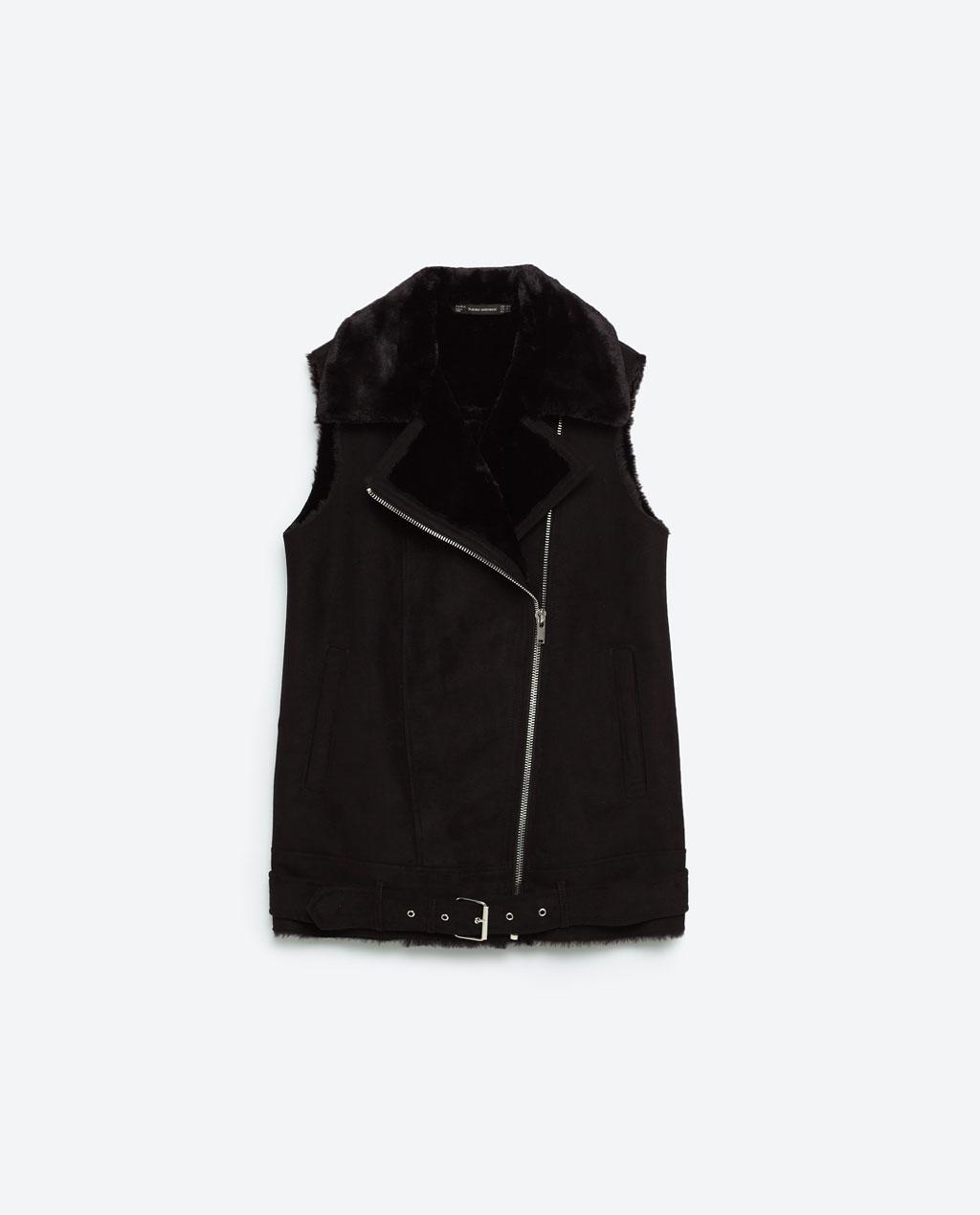 Zara Black Gilet £59.99