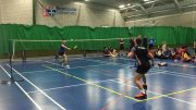 Badminton fly high in a tightly fought contest. Image: Tom Shrimplin