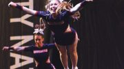 Flawless: cheerleading is not only a spectacle, but also a precision sport. Image: Newcastle Northern Angels