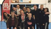 The Fencing team left Sheffield with a bronze medal and good memories. Image: Newcastle University Fencing Club