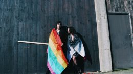 Photoshoot dedicated to LGBT+ week Image: Newcastle University Fashion Society