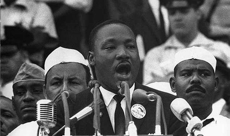 Martin Luther King. Image: Flickr, David Erickson.