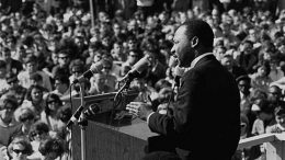 Martin Luther King at the University of Minnesota 1967. Image: Flickr, Minnesota Historical Society