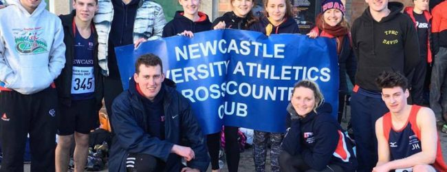 NUAXC prepare for Cow Bell Road Race