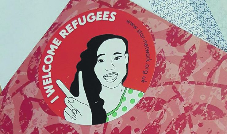 STAR's Welcoming Refugee's craft activities.   Image: Libby Shaw.