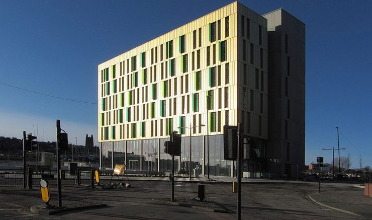 The Core, Newcastle Science Central. Image: Geograph, Andrew Curtis