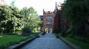 The Quadrangle, Newcastle University. Image: Wikimedia Commons, Peter Clarke.