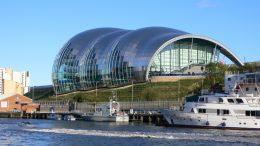 The Sage, Gateshead. Image: Wikipedia Commons.