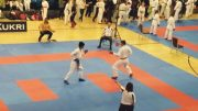 Ready to rumble: The team showed their skills in the kata and kumite. Image: Nasreen Khatun