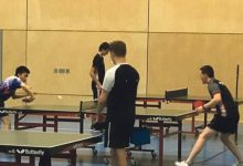 Table tennis take the clean sweep