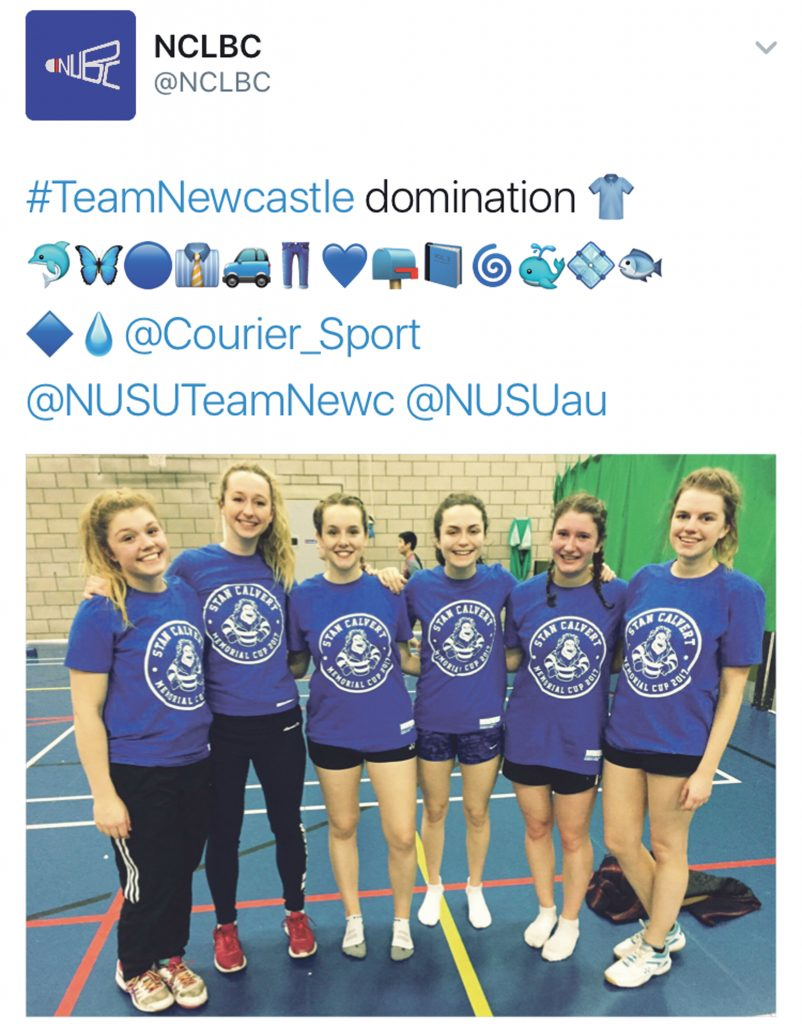 More success: NUBC W1 capped off a fantastic season with a dominant Stan Calvert display. Image: @NCLBC