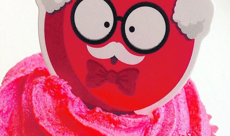 Comic Relief cupcake.  Image: Flickr, Rogerio da Silva.