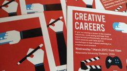 The Creative Careers event. Image: Twitter, NUSU Go Volunteer