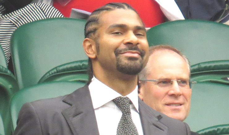 Right or wrong: David Haye tried to play through his ankle injury. Image: Wikimedia Commons