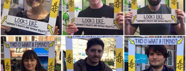 Amnesty International Society celebrates IWD
