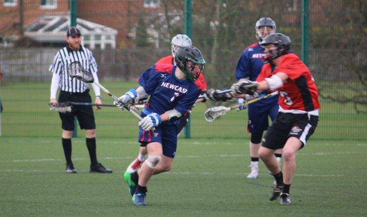 Rivals: Newcasltle won two and lost two against Northumbria his season. Image: Fiona Leishman