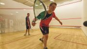 Pride of Newcastle: the Squash Club performed brilliantly in Stan Calvert. Image: Alec Jones