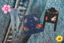 You've got a trend in me: Embroidered denim