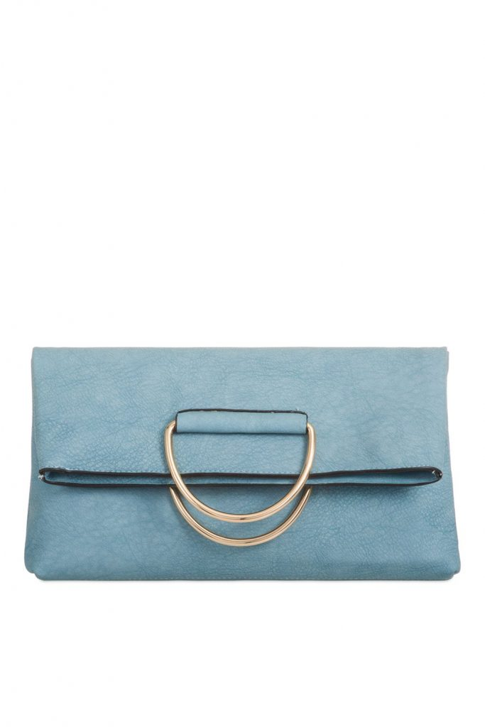 Koko Couture faux leather clutch £22