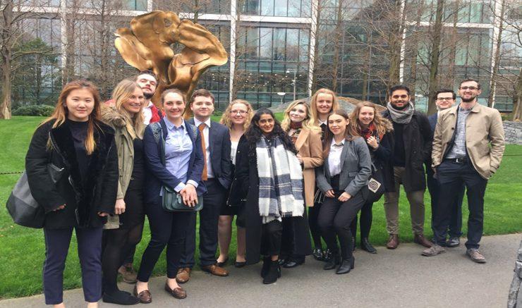 Participants in London. Image: Laura Elizabeth Buckle.