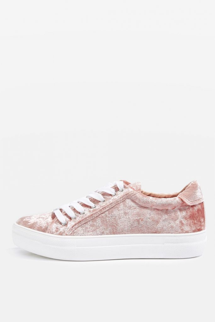 Topshop Crystal Trainers  £26