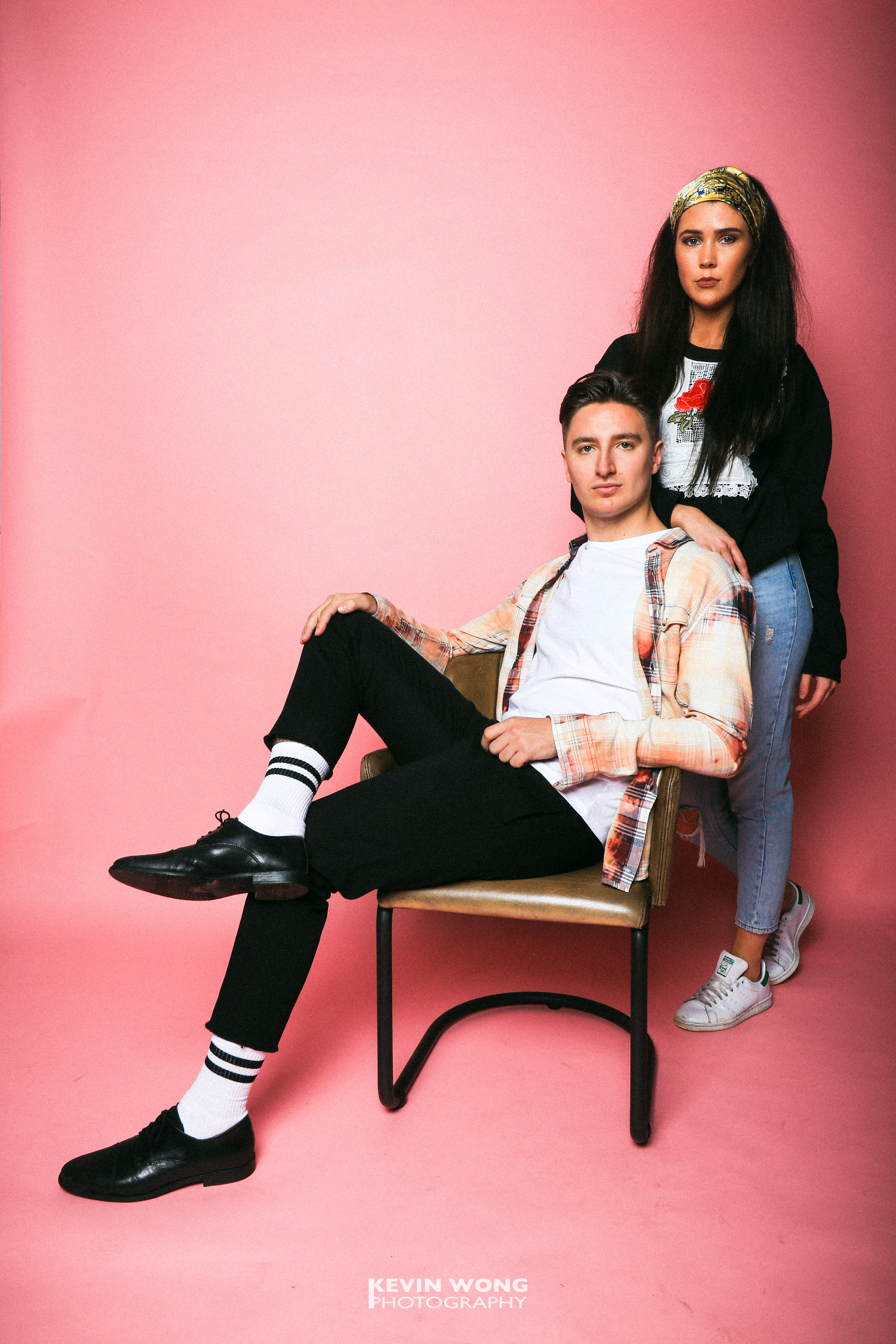 Courier Fashion Shoot 2017, Charles & Ellie, Clothes courtesy of TOPSHOP and Retro Vintage
