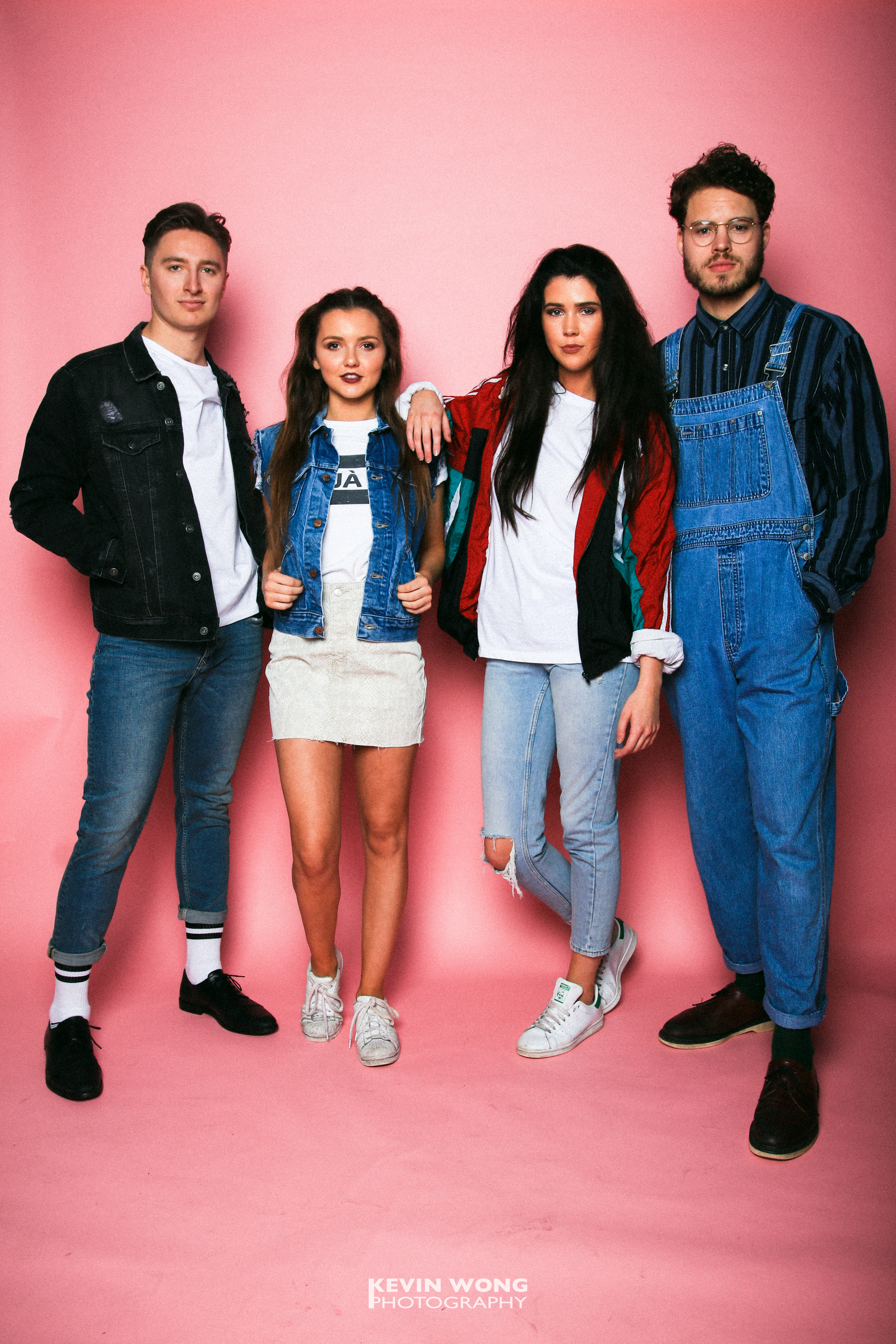 Courier Fashion Shoot 2017, Charles, Yannick, Rose & Ellie, Clothes courtesy of TOPSHOP and Retro Vintage