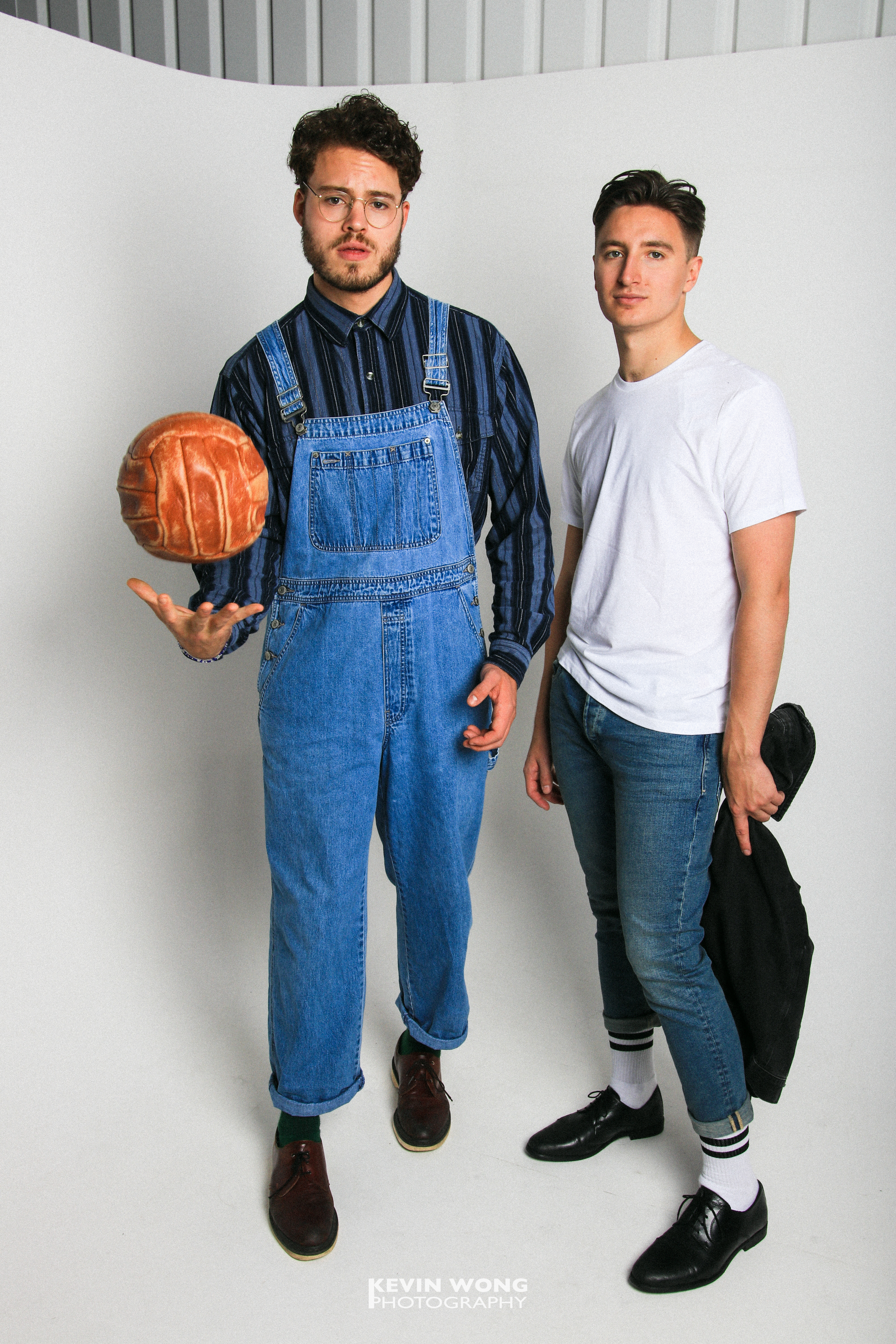 Courier Fashion Shoot 2017, Charles & Yannick, Clothes courtesy of TOPSHOP and Retro Vintage
