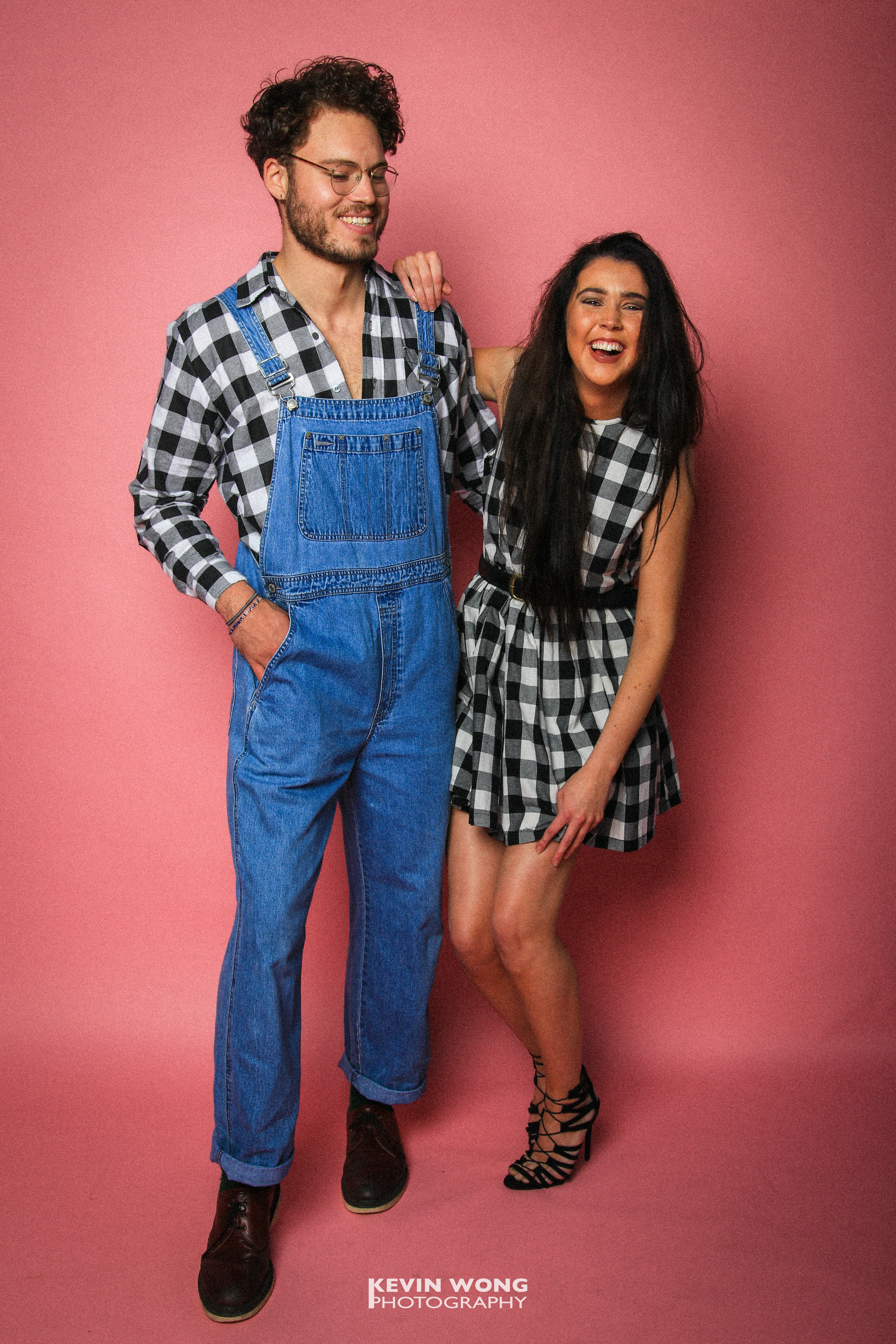 Courier Fashion Shoot 2017, Yannick & Ellie, Clothes courtesy of TOPSHOP and Retro Vintage