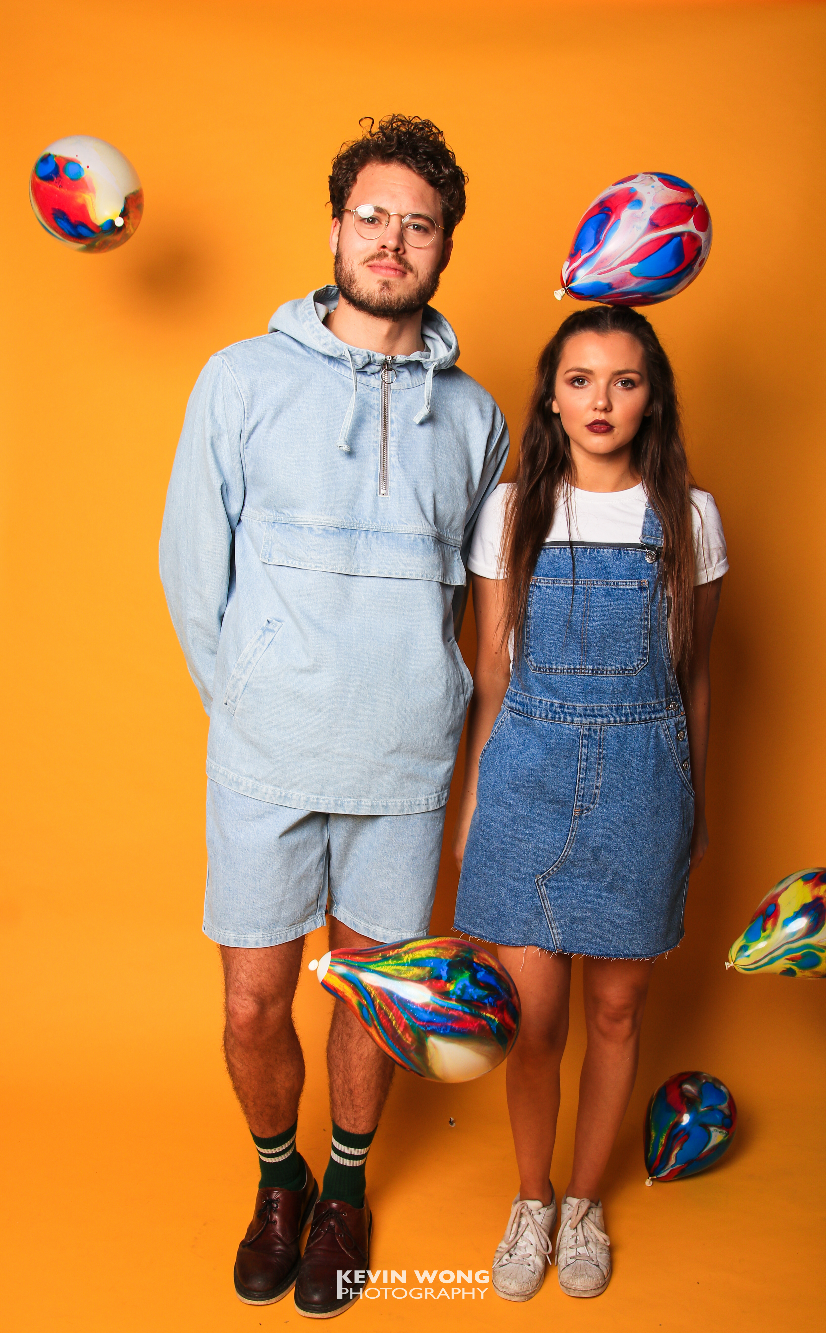 Courier Fashion Shoot 2017, Yannick & Rose, Clothes courtesy of TOPSHOP and Retro Vintage