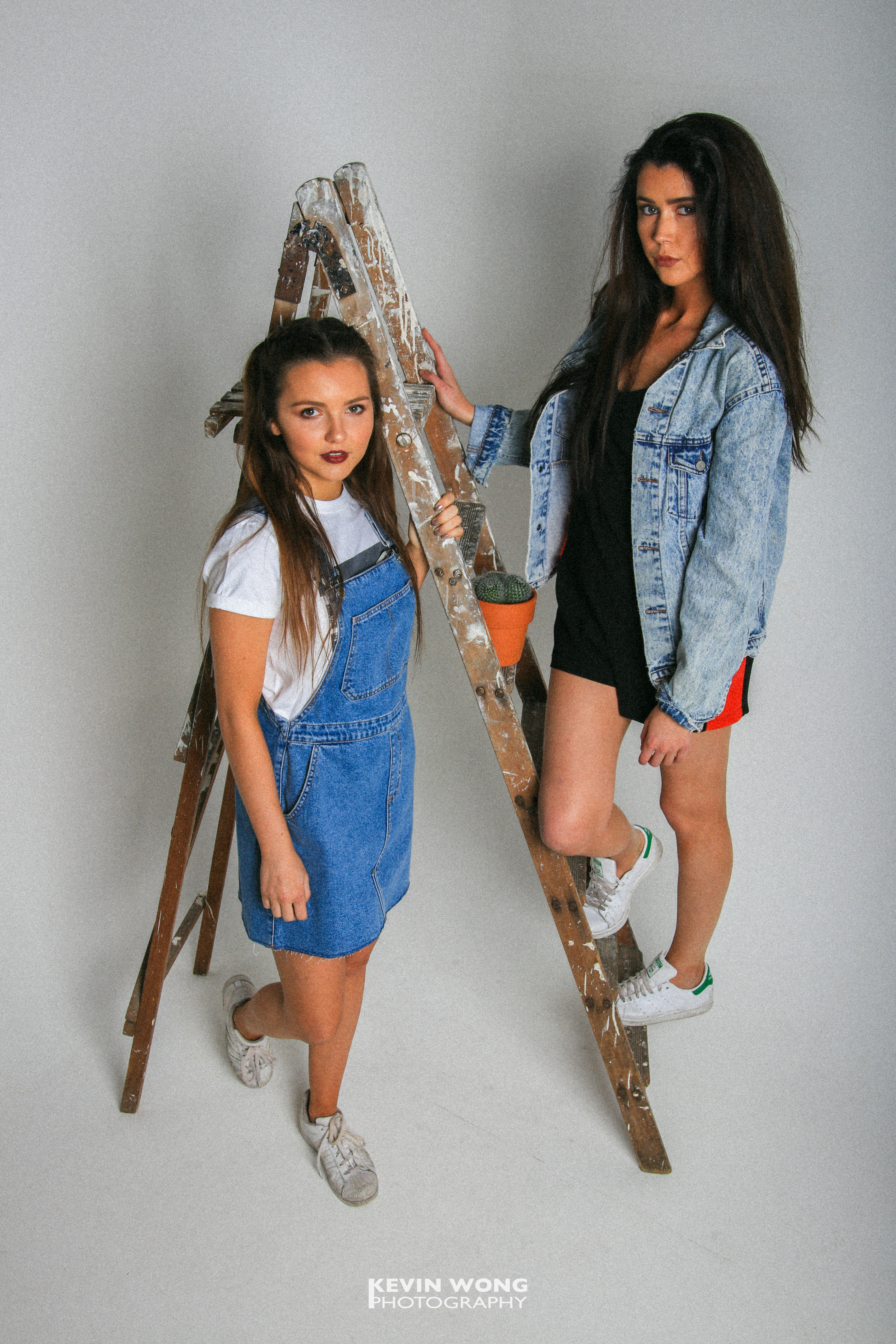 Courier Fashion Shoot 2017, Rose & Ellie, Clothes courtesy of TOPSHOP and Retro Vintage