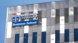 Newcastle University Business School. Image: Andrew Curtis, Geograph.