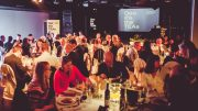 Students and academics celebrate at 2016 TEA Awards.  Image: NUSU