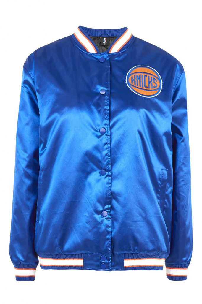 TOPSHOP New York Knicks Jacket by UNK x TOPSHOP, £58
