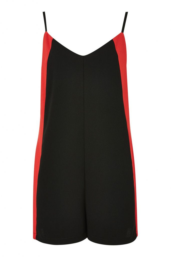 TOPSHOP Colour Block Romper, £42