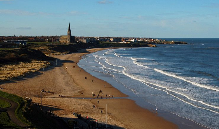 The long sands of Tynemouth. Image: Flickr, Tom Chance.