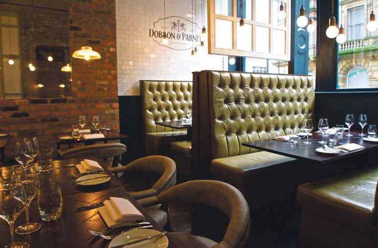 """The complete package: Dobson and Parnell provides """"first-class food in a first-class location"""""""