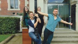 'Freshers: Take 2017' behind the scenes: Freshers' Week Organisers, Alice Boniface, Chloe Burton, Kieran Peel and Josh Turner