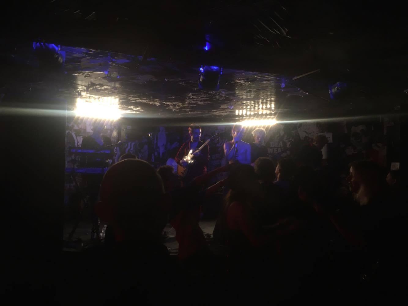 HMLTD live at ThinkTank